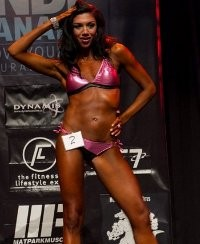 Jacqueline Curl - Fitness Competitor