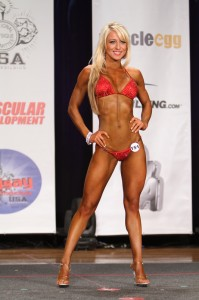 Candice Perfect Rising Fitness Competitor